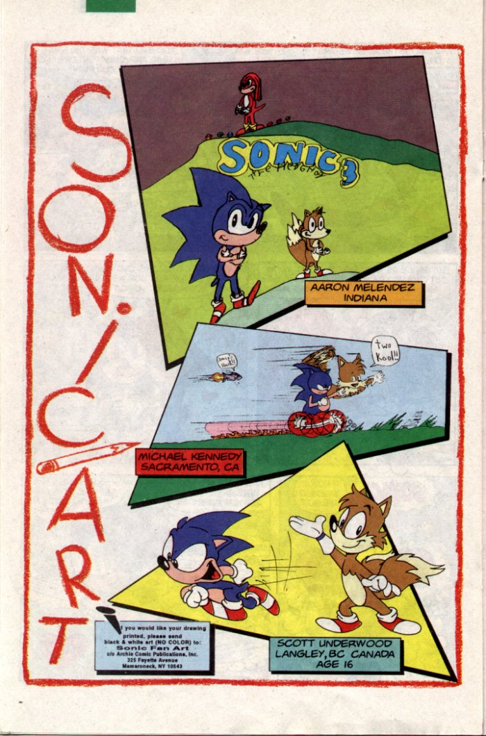 Read online Sonic The Hedgehog comic -  Issue #18 - 16