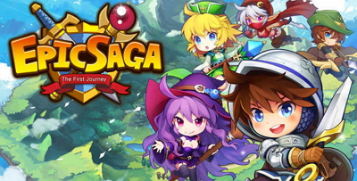 Epic Saga MOD APK v.1.3.0 [High Damage
