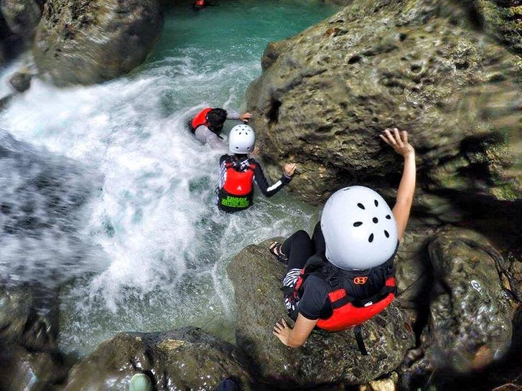 Canyoneering in South Cebu