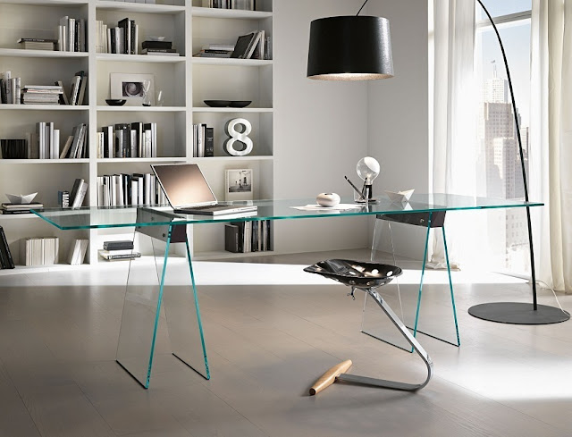 best buy contemporary glass office furniture for the home sale online