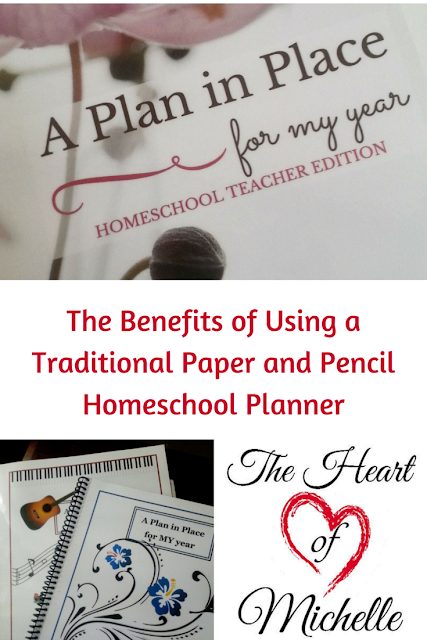 The Benefits of Using a Traditional Paper and Pencil Homeschool Planner