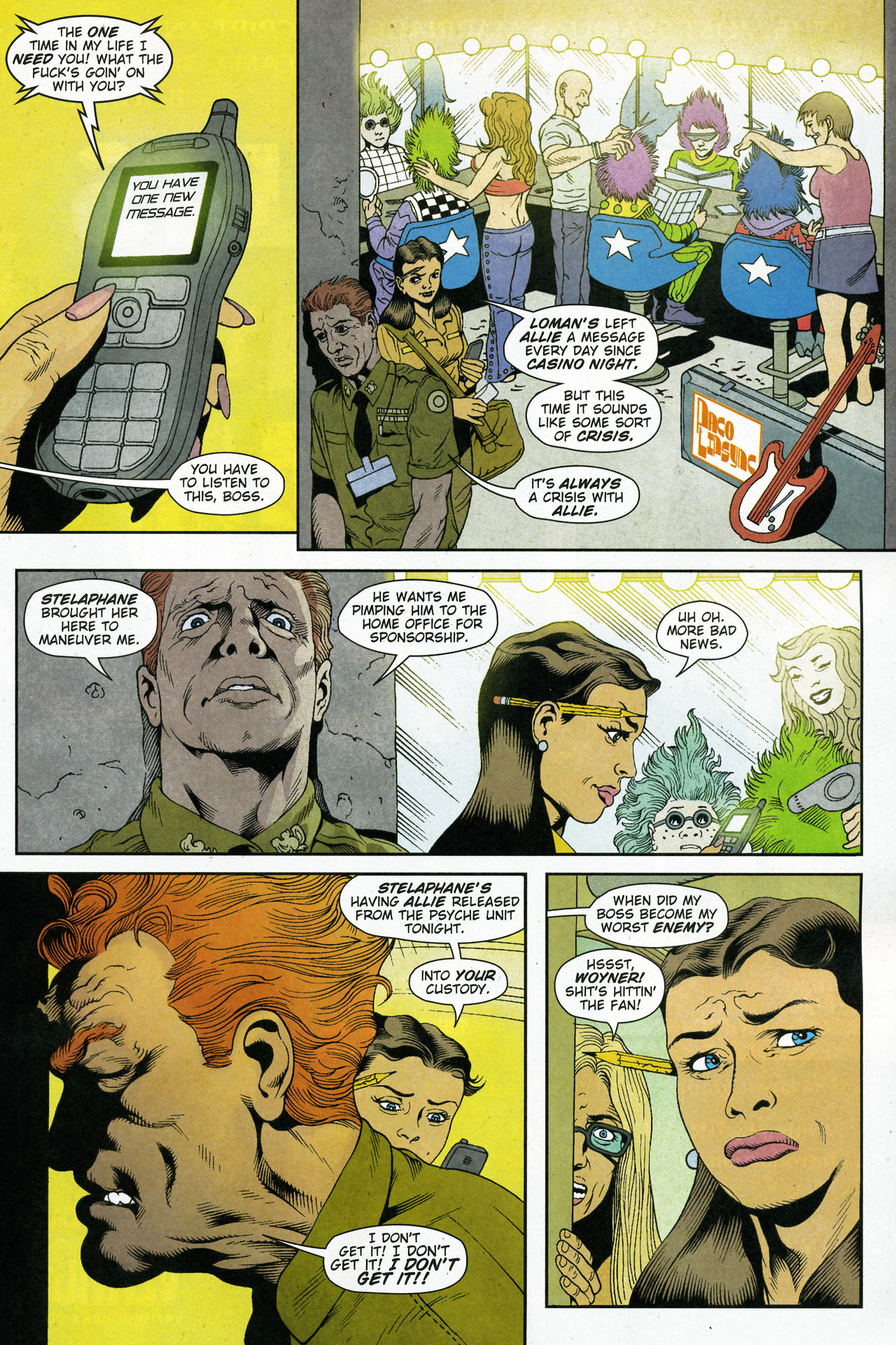Read online Army @ Love comic -  Issue #5 - 8