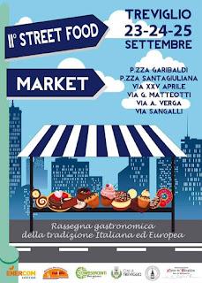 Street Food Market 23-24-25 settembre Treviglio (BG) 2016