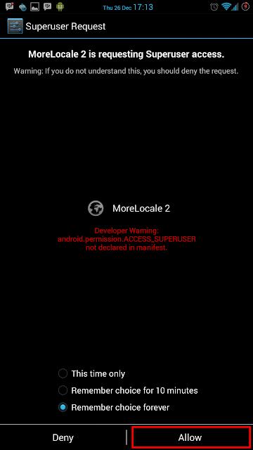 تطبيق MoreLocale 2