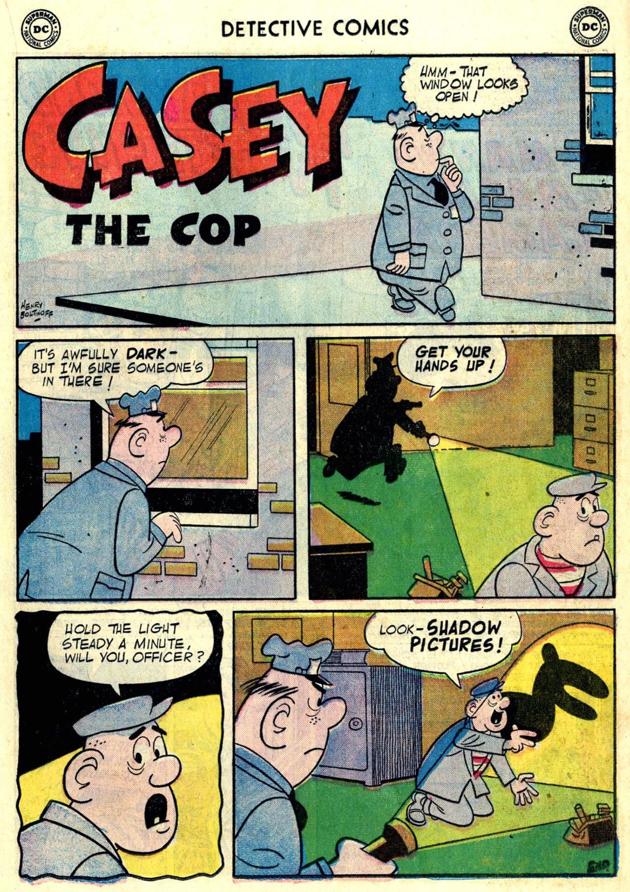 Read online Detective Comics (1937) comic -  Issue #246 - 17