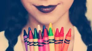 Labiales de crayon