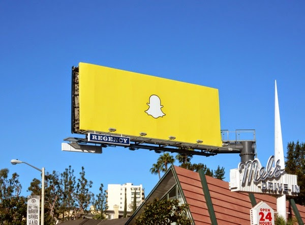 Snapchat billboard March 2015
