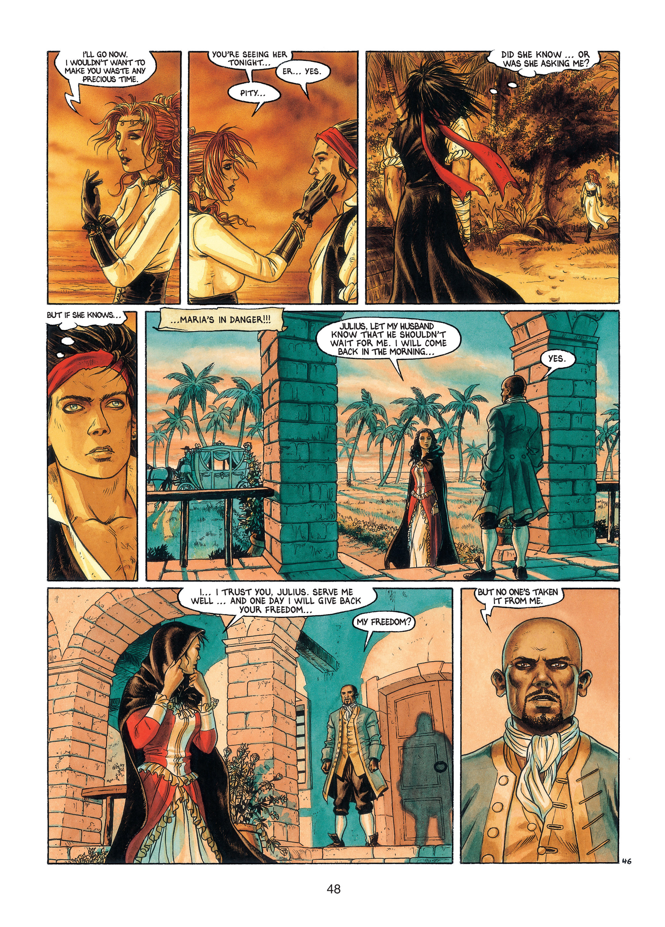 Read online Barracuda comic -  Issue #3 - 49
