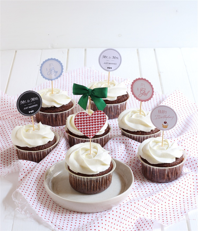 DIY-Tutorial Cupcake und Muffin Picker