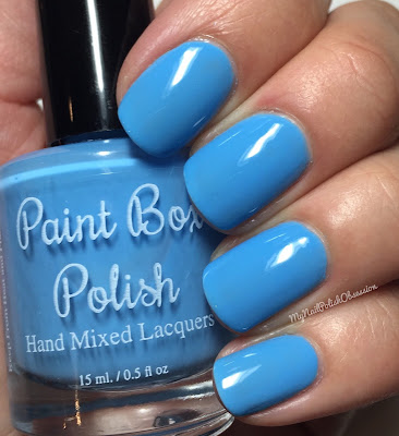 Paint Box Polish, Ciao, Gelato! collection, Spring 2016; Puffo