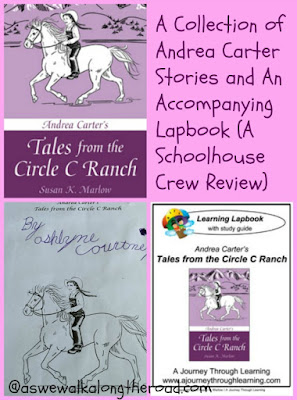 Andrea Carter Tales From the Circle C Ranch and lapbook