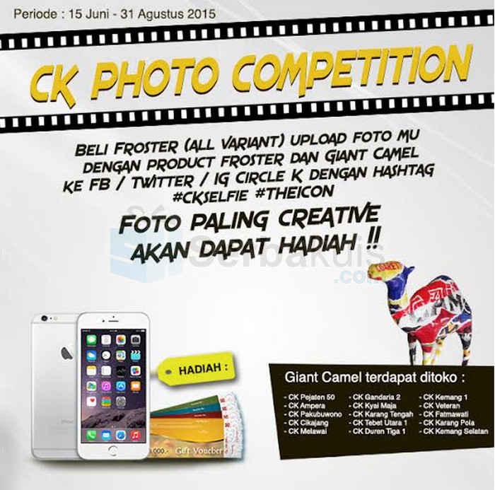 Kontes Foto Circle K Berhadiah iPhone 6 & Gift Voucher