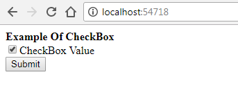 Access CheckBox and CheckBoxFor Value From View To