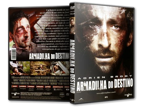 Capa DVD Armadilha do Destino