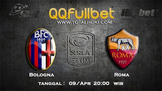 PREDIKSIBOLA - PREDIKSI TARUHAN BOLOGNA VS AS ROMA 9 APRIL 2017 (SERIE A)