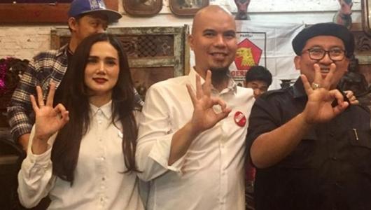 Fadli Zon dan Mulan Jameela Lolos ke Senayan