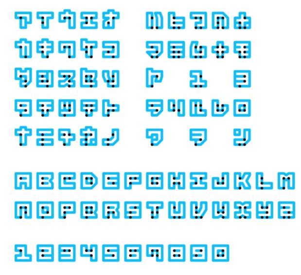 Alfabeto de Braille Neue