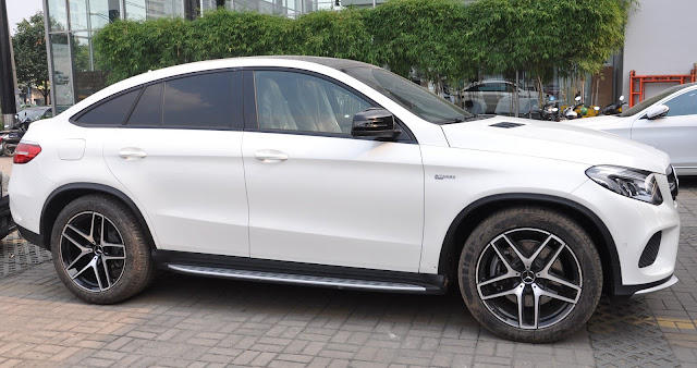Mercedes AMG GLE 43 4MATIC Coupe sử dụng Mâm xe thể thao 21-Inch