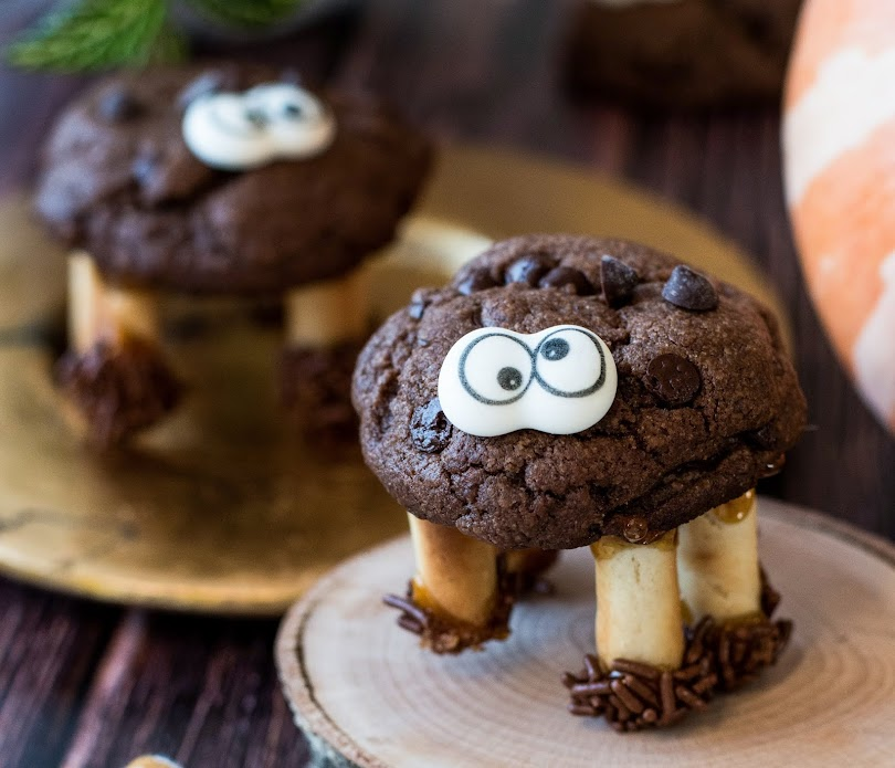 recette cookies chocolat halloween monstre