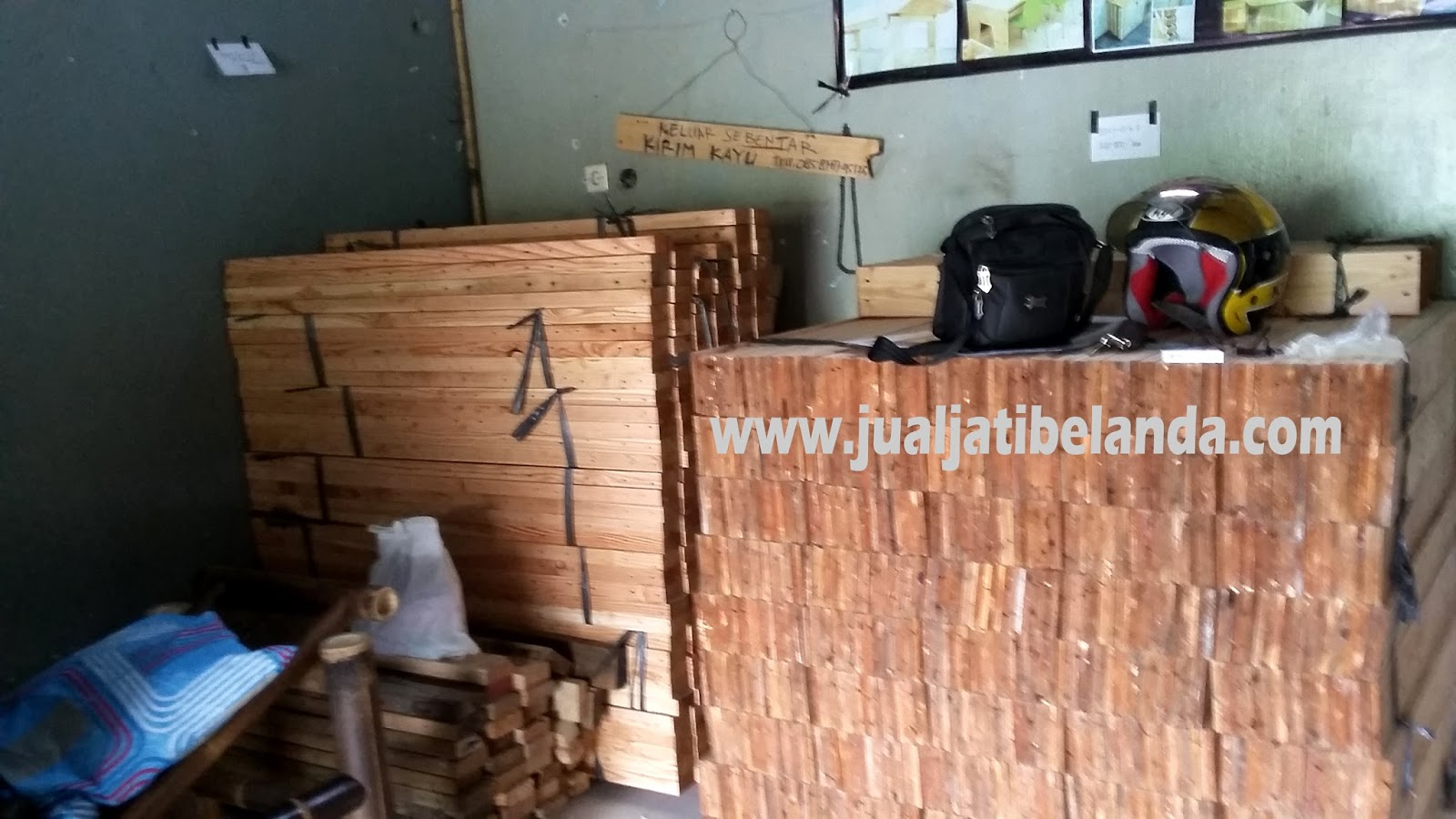 Finishing Kayu Jati Belanda dengan Biopolish®