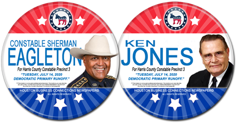 Constable Eagleton and Ken Jones are the Dem Candidates for Constable, Precinct 3
