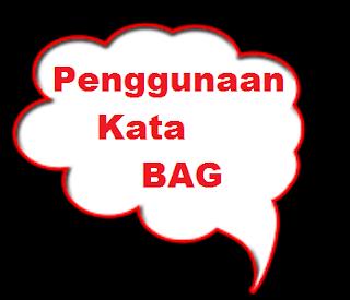 Penjelasan Kata Bag Dalam