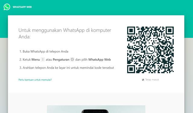 Cara Membuka WhatsApp Web di Laptop dan PC