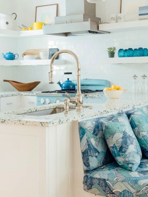 Recycled Sea Gl Style Countertop