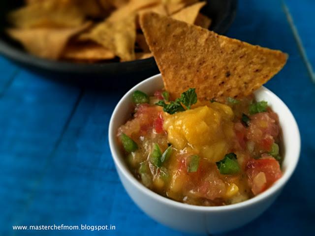 Mango Salsa | Summer Dip | Mango Salad |