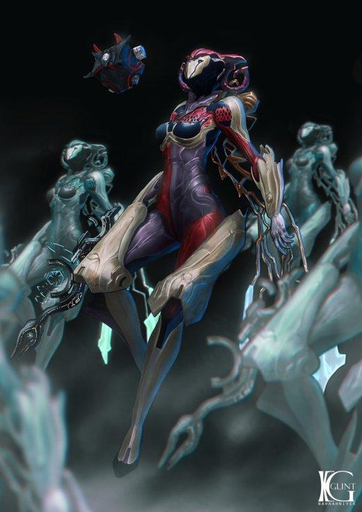 Kevin Glint artstation deviantart ilustrações fantasia ficção científica games arte mulheres