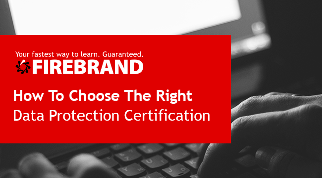 How to choose the right data protection certification