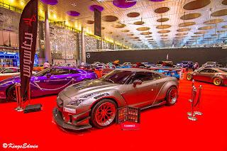 qatar motor show godzilla