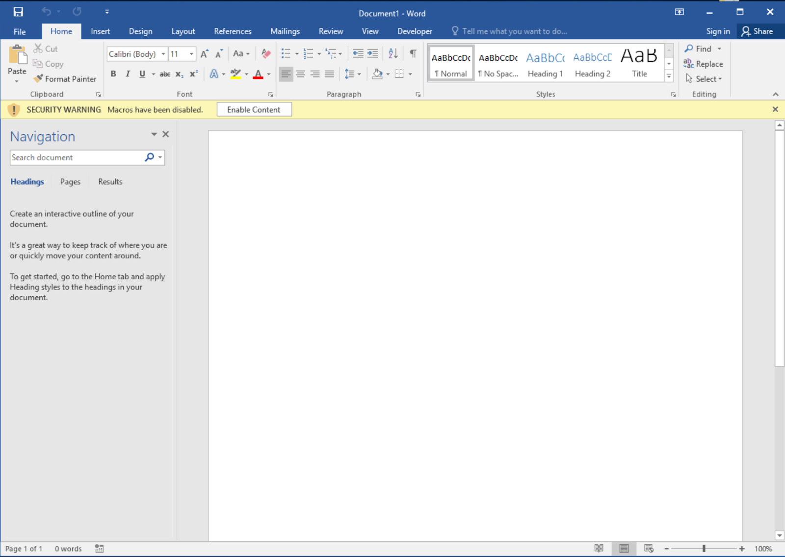 Executing Macros From a DOCX With Remote Template Injection Throughout Word Macro Enabled Template