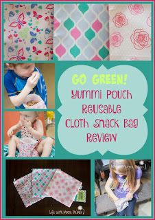 Yummi Pouch Reusable Snack Bag Review