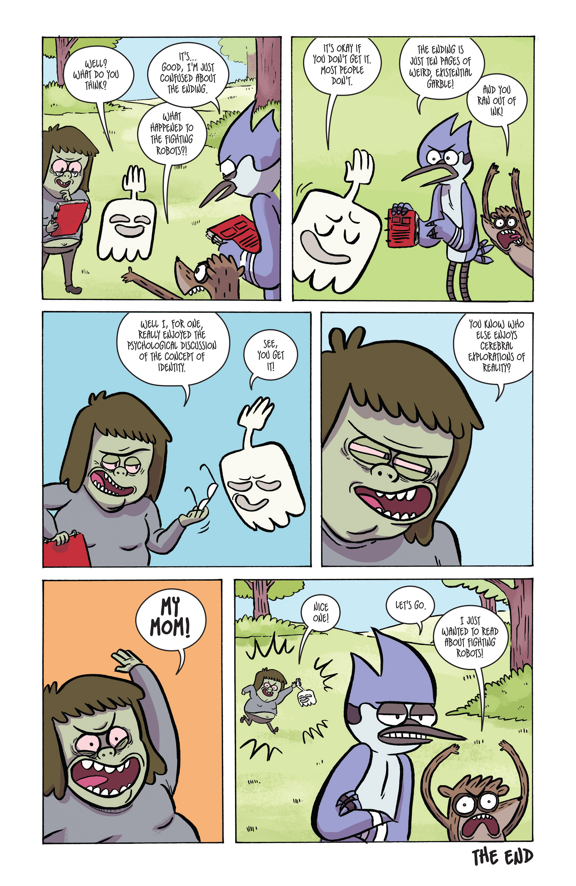 Read online Regular Show comic -  Issue # _2017 Special 1 - 18