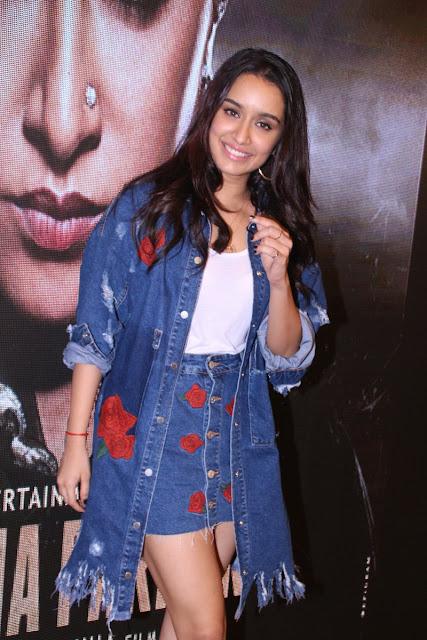 Shraddha Kapoor at Tere Bina song launch from Haseena Parkar movie
