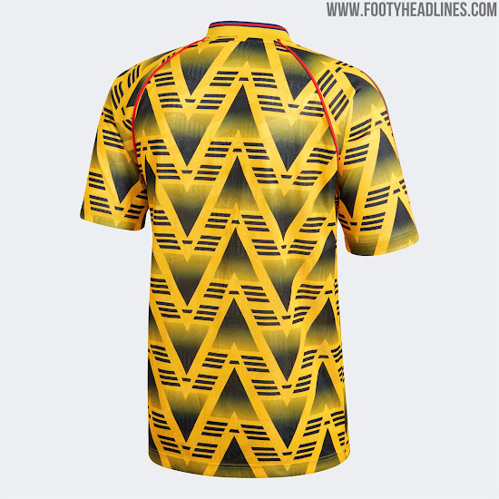 Spectacular Adidas Arsenal Bruised Banana Kit Remake + Retro