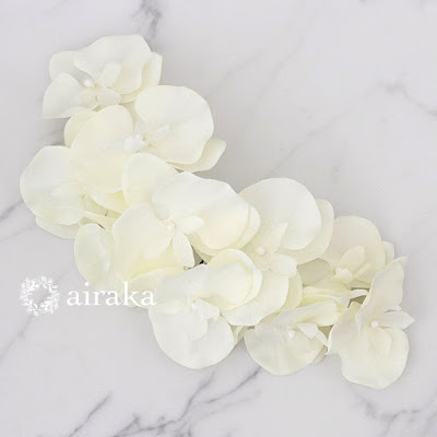 胡蝶蘭の髪飾り_airaka