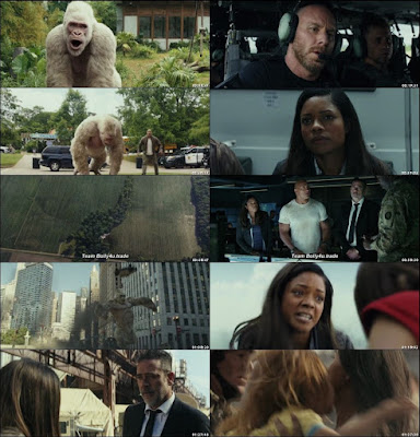 IMDB Ratings: 6.4/10 Genre: Action, Adventure, Sci-Fi  Director: Brad Peyton Stars Cast: Dwayne Johnson, Naomie Harris, Malin Akerman  Language: Hindi ( Cleaned) + English Video Quality: BRRip 480p  Film Story: When three different animals become infected with a dangerous pathogen, a primatologist and a geneticist team up to stop them from destroying Chicago.
