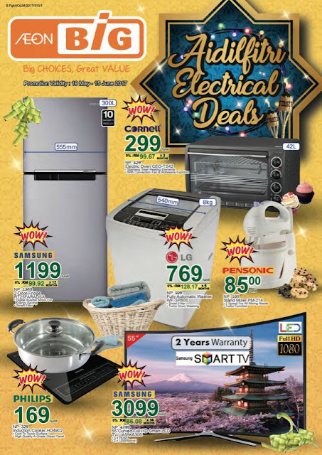Malaysia AEON BiG  Raya Appliance Promotion Catalogue