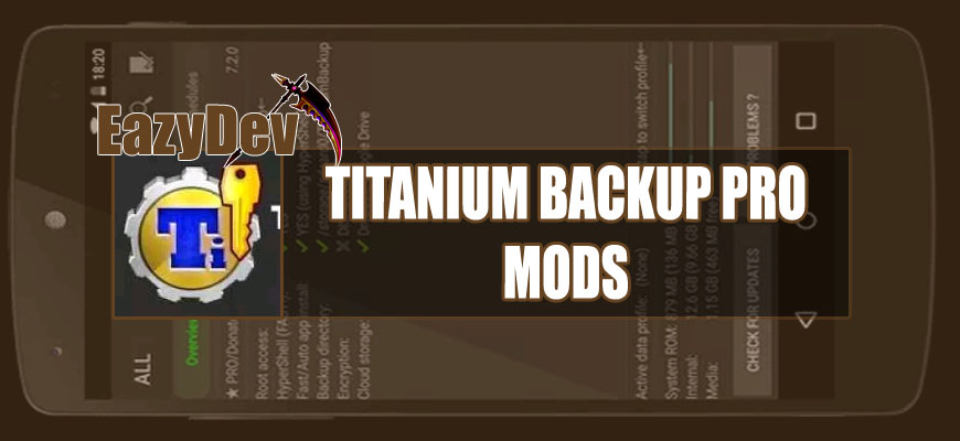 app backup and restore mod apk