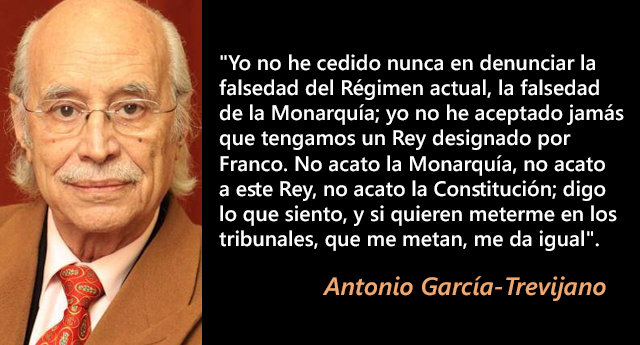 Fallece a los 90 años el jurista Antonio García-Trevijano