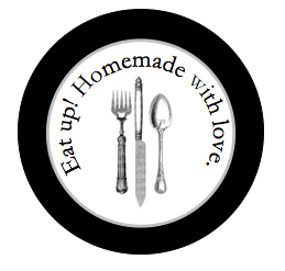 Free Homemade Food Gift Label Printable (using Avery Round Labels)