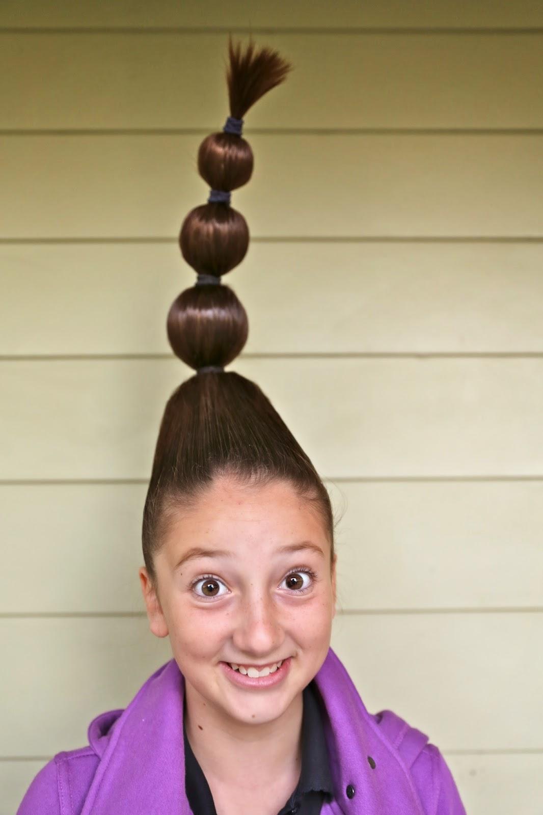 Mleballard Family Crazy Hair Day
