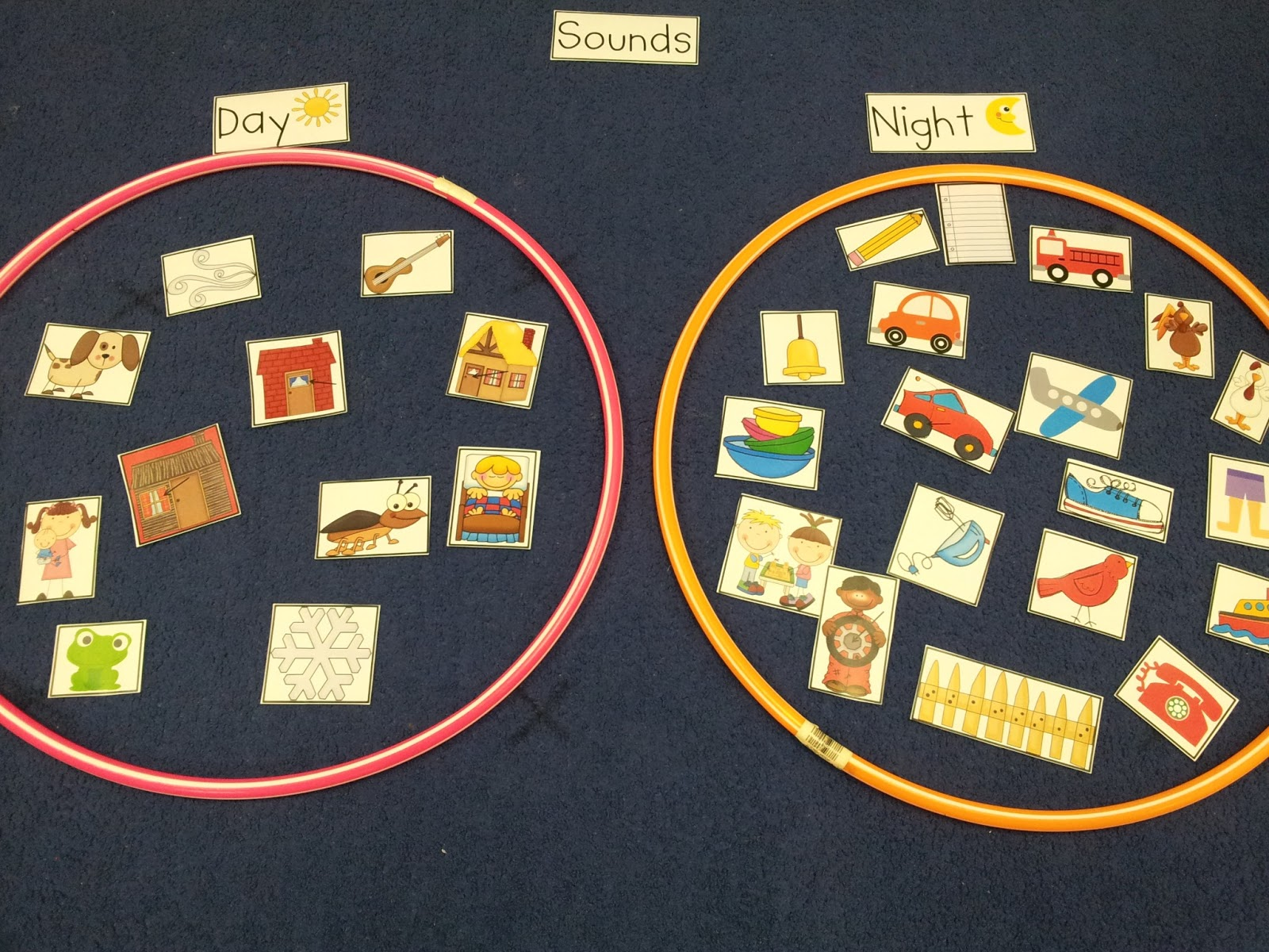 Chalk Talk A Kindergarten Blog The Sound Of Day The Sound Of Night Sort