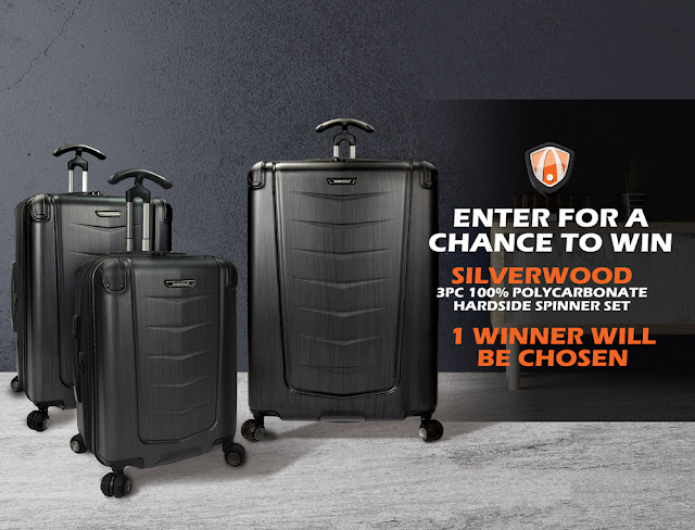 Traveler's Choice Luggage is giving you a chance to enter once to win a sturdy and fashionable three piece hard case luggage set, worth nearly $1000!