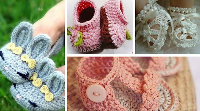 Galería: 20 Zapatitos a Crochet