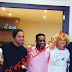 Football legends Okocha, Ronaldinho,  Valdarama pictured together in Bahrain