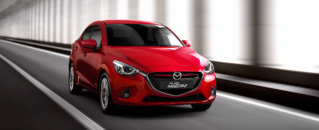 Mazda2 2018 mới trang bị động cơ SkyActiv có dung tích 1.5L