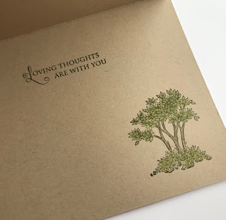 Stampin' Up! Golden Afternoon Sympathy Card + Video ~ 2019 Occasions Catalog ~ www.juliedavison.com